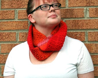 Red Delicious Infinity Scarf