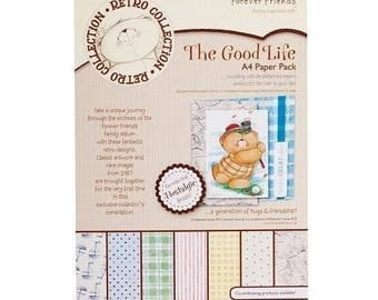 two pockets 21x29.5 cm THE GOOD LIFE 24 papers