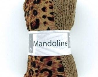 "1 ball for scarf/scarf ""White horse"" MANDOLIN Savannah II"
