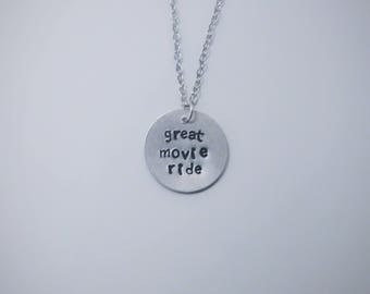 Great Movie Ride necklace