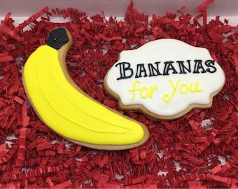 Bananas for You Cookies Gift Set
