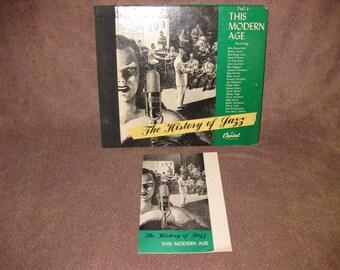 History of Jazz Volume 4 - 78 RPM Record Set