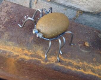 Yard Art Scrap metal Spider