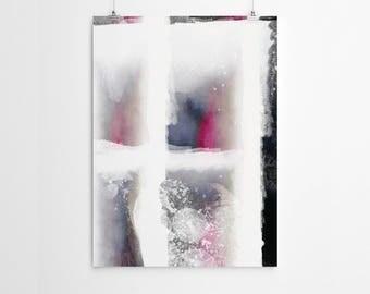 Abstract Print Abstract Art Print Abstract Wall Art Prints Abstract Pink Wall Art Abstract Modern Prints Abstract Watercolor Prints
