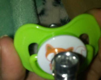 Sly Lil Foxy Pacifier Tobacco Pipe