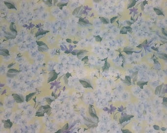 Reserved for Diani** Sheridan Flower Queen Double Sheet - Fabric Cotton - Vintage
