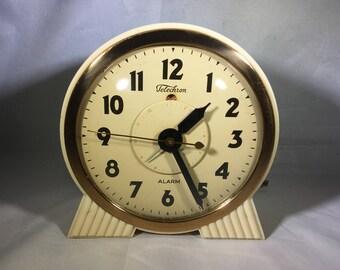 "Telechron Model 7H85 ""Attendant"" Alarm Clock"
