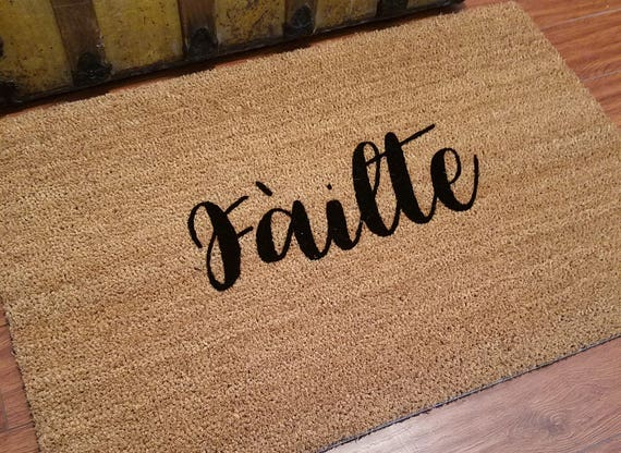 ... Gift Ideas   Doormat   Welcome Door Mat   Failte Door Mat   Custom Door  Mat
