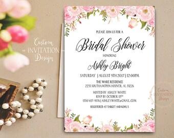 Bridal shower invitation rustic, Bridal shower invitation, bridal shower invites, bridal shower invitation template - US_BI0305a