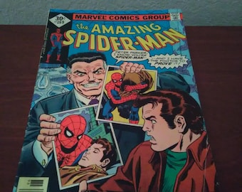 1977 The amazing spider man #169