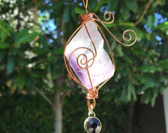 Amethyst Spiritual/ Stress Relief Necklace
