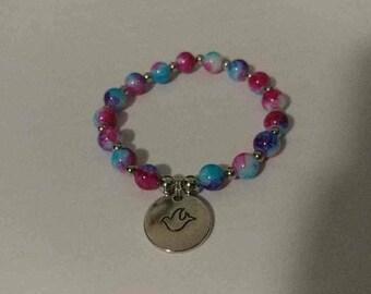 Pink/Blue Bracelet