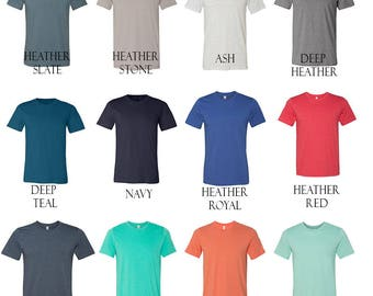 Any Design within Our Shop, Super Soft T Shirts-Multiple Color Options