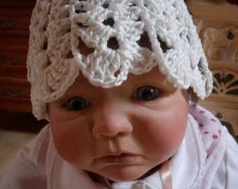Spring Hat crochet girl