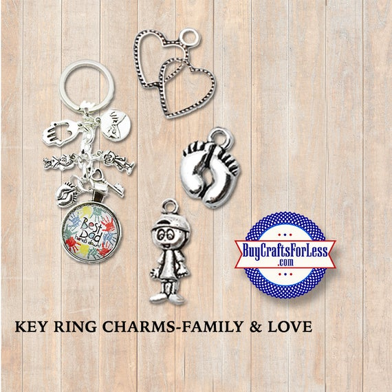 SPORTS CHARMS for Key Rings - FaTHER'S Day, Dad's Day, GIFTS for Dad +Discounts & Free Shipping*