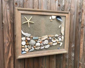 Decorative Wall Decor, Home Decor, Coastal Home, Seashells, Beach House Decor, Nautical, Coastal Beach, Beach Decor, Cape Cod