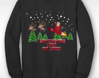 New Kim Jong Un North Korea Christmas Funny  Xmas Sweater // Ugly Jumper Sizes Small-XXL