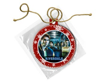 Riverdale Cast Archie Jughead Veronica Betty  Christmas Ornament