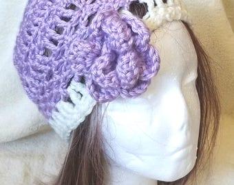 Flower Hat - Medium - Crochet