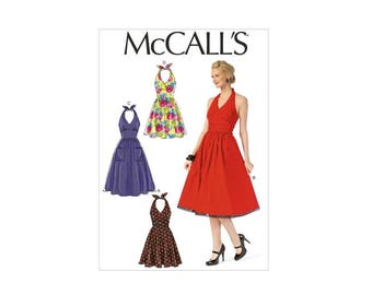 McCall's 7157 - Halter Dress Pattern