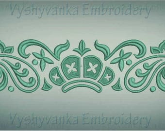 Damask element Machine embroidery design  Victorian design Damask ornament  Instant Download
