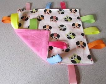 New! Handmade Tag Blanket <OWLS> Free Shipping!