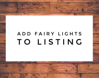 Add fairy lights to your ears!