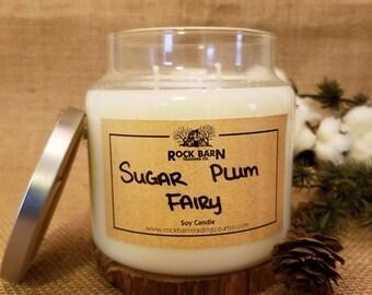 Sugar Plum Fairy 16 oz. Soy Candle