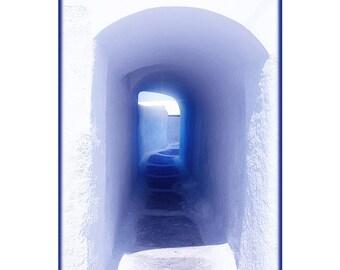 Photo Santorini A4 poster