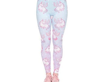 Winged Unicorn Leggings