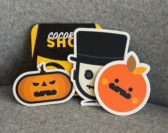 Stickers for Halloween, Halloween Stickers, cool Halloween stickers, Ghostbusters, Halloween vinyl stickers for laptop, skateboard decals