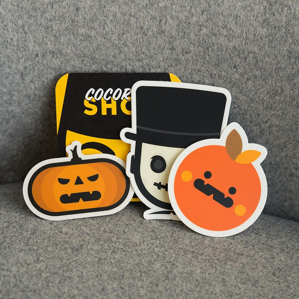 Stickers For Halloween Halloween Stickers Cool Halloween - Custom vinyl halloween stickers