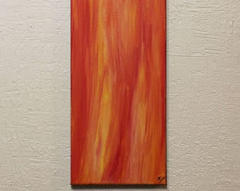 Contemporary painting: warmth.