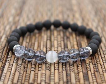 Navy - Beaded Bracelet