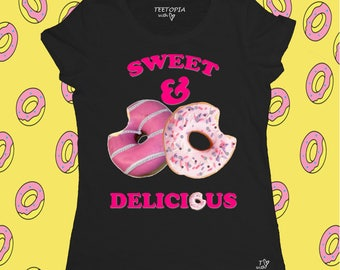 SWEET DELICIOUS - t-shirt donna