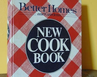 Vintage Better Homes and Garden New Cook Book