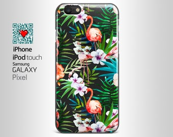 iPhone 7 Plus clear Floral iPhone 5S case, iPhone 6 Plus Case, iPhone 6 case, iPhone SE Case, Samsung  S8, S7 Edge,  Note 6  YI006