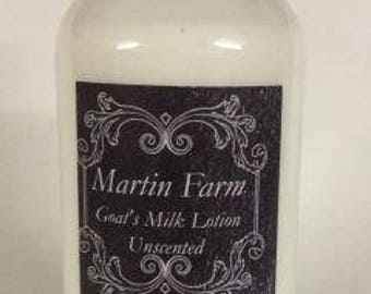 Unscented Goat's Milk Lotion
