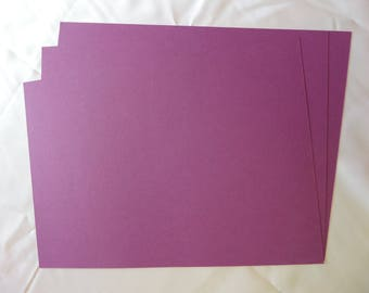 A4 Card Stock 240gsm ~ Purple Grape