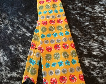 Neck Tie Floral Bright Gap Men's Tie Necktie