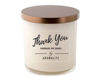 Thank You Scented Soy Candle
