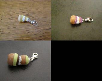 your choice, charm pendant, charm, religious Kit Fimo jewelry