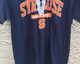 Syracuse University Lace up tee