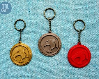 Thundercats: 3D Printed Keyrings