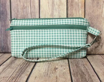 Country Time /Clutch/Pouch/Wallet with card slots and removable strap
