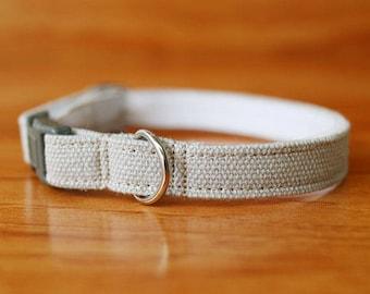 Minimal Grey Cat Collar, Pastel Grey Cat Collar, Chocky Cat Collar, Chocky Cat Collar Breakaway, Chocky Custom Cat Collar, Small Dog Collar