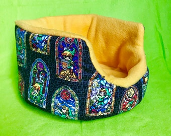 Ready to Ship Link Cuddle Cup with Two Removable Pads - For Guinea Pigs, Hedgehogs, Rats, Ferrets, Small Animals!