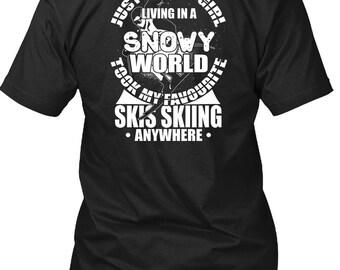 Took My Favorite Skis T Shirt, I Love Skiing T Shirt