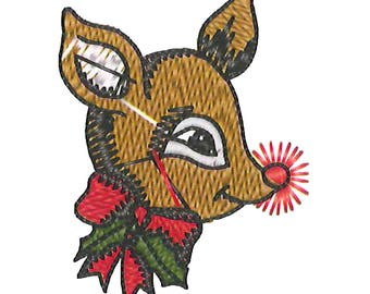 Patches deer Fawn Patch sticker 4 x 5.5 cm