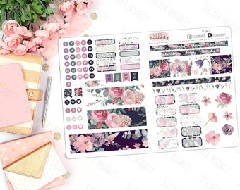March Monthly B6 Kit: planner stickers, sew much crafting, travelers notebook, annie plans